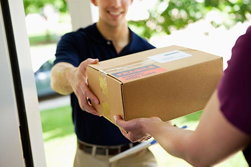 What's the difference between Freight and Small Parcel shipments?